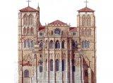 Chevet Cathédrale Saint Jean / Lyon