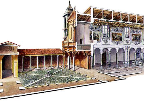 Eglise San Clemente / Rome / ed.Gallimard