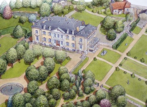 Chateau de Voltaire / Ferney-Voltaire / CMN